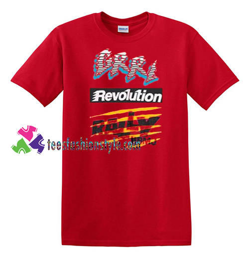 Marc Jacbos Revolution T Shirt gift tees unisex adult cool tee shirts
