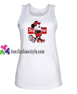 Old Disney Mickey Mouse Style Supreme Tank Top gift tanktop shirt unisex custom clothing Size S-3XL
