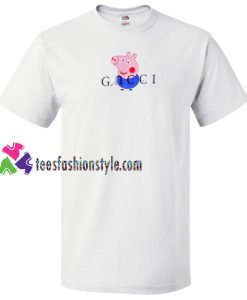 Peppa Pig Blue Gucci Parody T Shirt gift tees unisex adult cool tee shirts