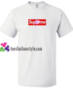 Peppa Pig X Supreme Red Box T Shirt gift tees unisex adult cool tee shirts