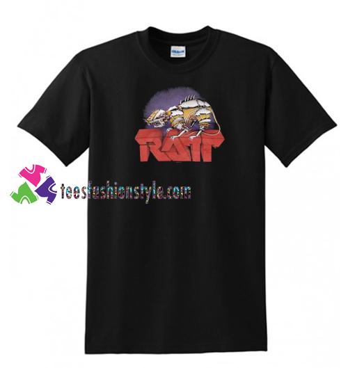 Ratt Vintage 1983 Concert Tour T Shirt gift tees unisex adult tee shirt