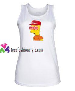 Simpson Posse Supreme Tank Top gift tanktop shirt unisex custom clothing Size S-3XL