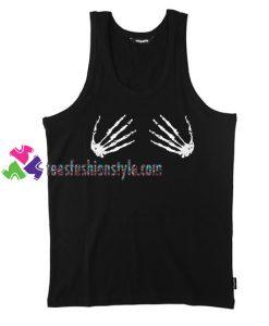 Skeleton Hands Tank Top gift tanktop shirt unisex custom clothing Size S-3XL