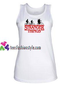 Stranger Things Bike Tank Top gift tanktop shirt unisex custom clothing Size S-3XL