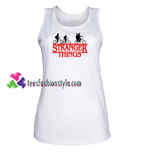 Stranger Things Bike Tank Top gift tanktop shirt unisex custom clothing Size S-3XL