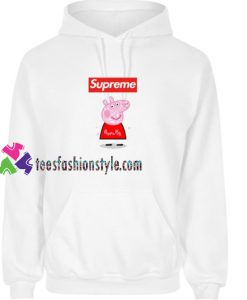 bbd227dc5f4c Supreme Box Red Peppa Pig Hoodie gift cool tee shirts cool tee shirts for  guys