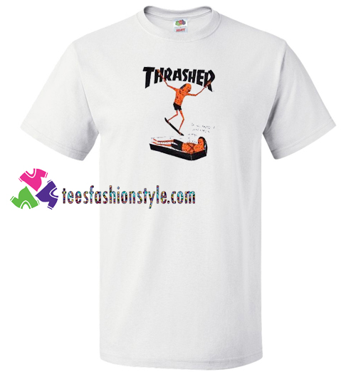 Thrasher Neckface T Shirt gift tees unisex adult cool tee shirts