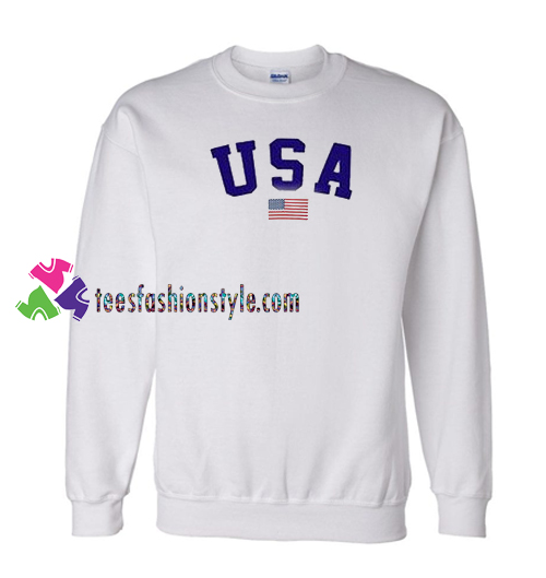 USA Flag Sweatshirt Gift sweater adult unisex cool tee shirts