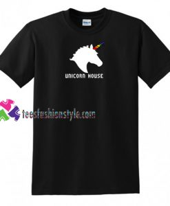Unicorn Hourse T shirt gift tees unisex adult cool tee shirts