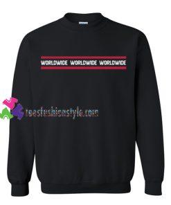 World Wide Sweatshirt Gift sweater adult unisex cool tee shirts