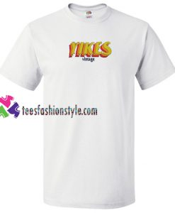 Yikes Vintage T Shirt gift tees unisex adult cool tee shirts