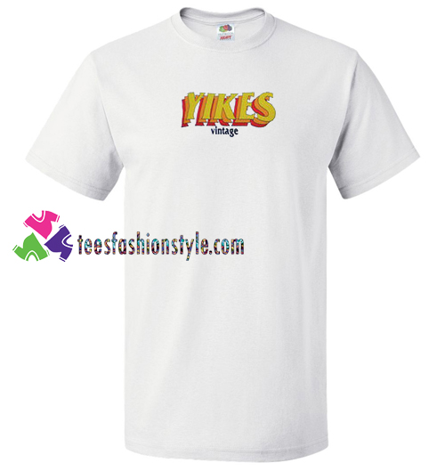 3c28b294f62 Yikes Vintage T Shirt gift tees unisex adult cool tee shirts