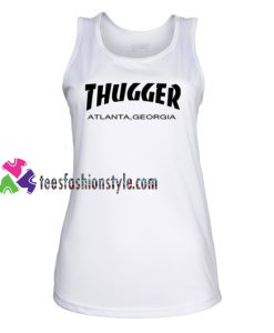 Young Thug X Thrasher Tank Top gift tanktop shirt unisex custom clothing Size S-3XL