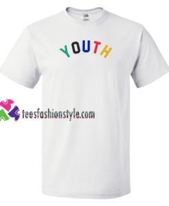 Youth Rainbow T Shirt gift tees unisex adult cool tee shirts