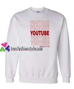 Youtube Brooklyn 18 Sweatshirt Gift sweater adult unisex cool tee shirts