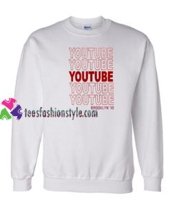 Youtube Brooklyn 18 Sweatshirt Gift sweater adult unisex cool tee shirts