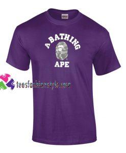 A Bathing Ape T Shirt gift tees unisex adult cool tee shirts