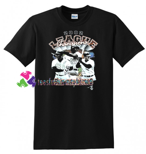 2002 League Champions San Francisco Giants T Shirt gift tees unisex adult cool tee shirts