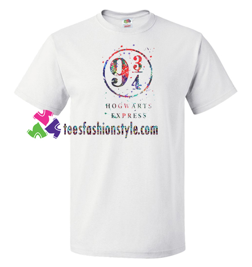 9 34 Hogwarts Express T Shirt gift tees unisex adult cool tee shirts