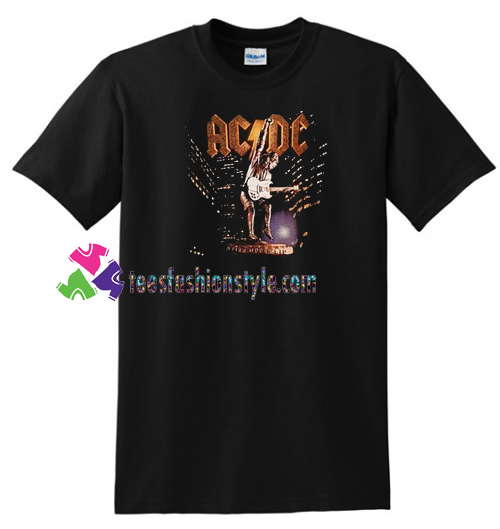 ACDC Stiff Upper Lip Tour T Shirt gift tees unisex adult cool tee shirts