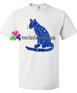 Abba Blue Cat T Shirt gift tees unisex adult cool tee shirts