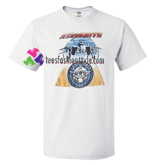 Aerosmith Plane Aero Force T Shirt gift tees unisex adult cool tee shirts