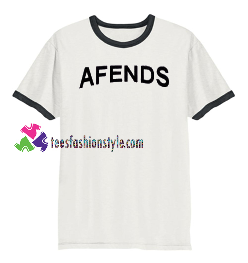 Afends Ringer T Shirt gift tees unisex adult cool tee shirts