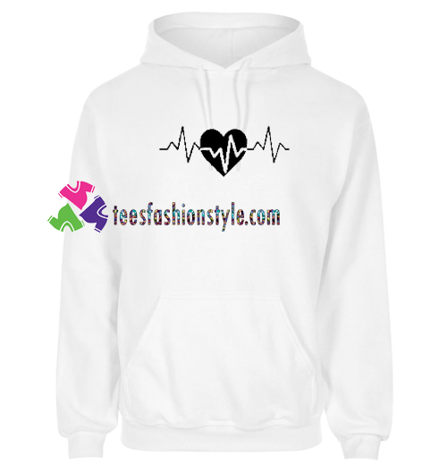 Heart Pulse Hoodie gift cool tee shirts cool tee shirts for guys