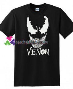 Marvel Comics Venom T Shirt, 2018 Movie Tom Hardy Shirt gift tees unisex adult cool tee shirts