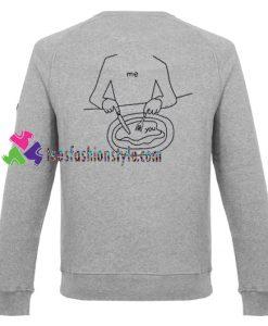 Me Eat You Sweatshirt Gift sweater adult unisex cool tee shirts