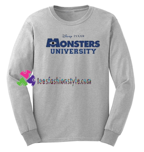 Monster University Sweatshirt Gift sweater adult unisex cool tee shirts