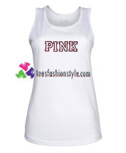 Pink Font Tank Top gift tanktop shirt unisex custom clothing Size S-3XL