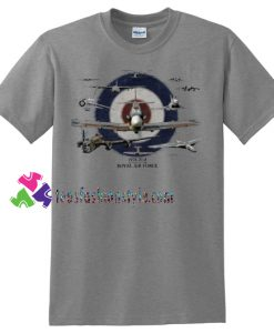 RAF 100TH ANNIVERSARY T Shirt, Air Force T Shirt gift tees unisex adult cool tee shirts