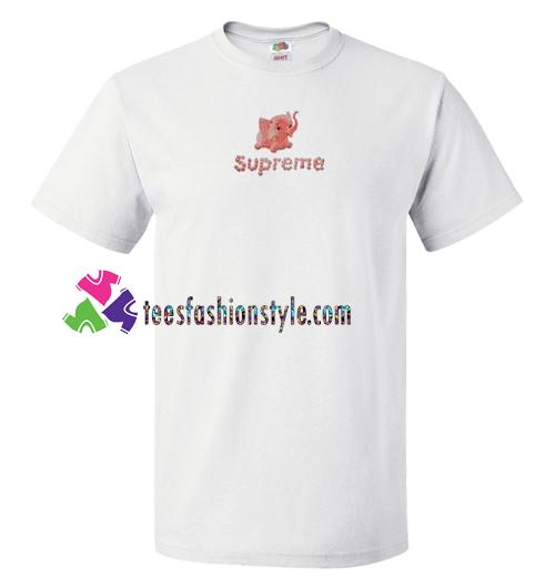 52220c24cfa216 Supreme Elephant T Shirt gift tees unisex adult cool tee shirts –  teesfashionstyle.com