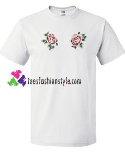 Twin Roses T Shirt gift tees unisex adult cool tee shirts