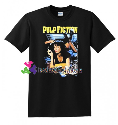 a59d22e62 Vintage Pulp Fiction T Shirt gift tees unisex adult cool tee shirts