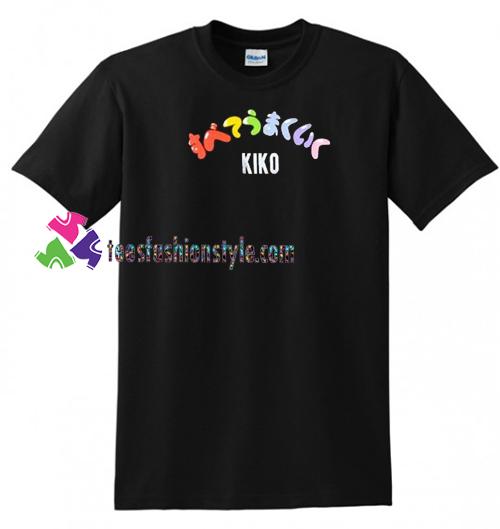 Japanese Kiko T Shirt gift tees unisex adult cool tee shirts