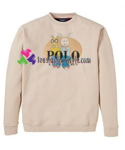 'Bear and Rabbit' Sweatshirt Gift sweater adult unisex cool tee shirts
