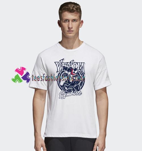 2018 New Summer Men T Shirt Movie Venom spider man Casual Shirts gift tees unisex adult cool tee shirts