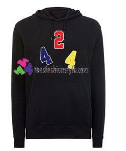 424 Logo Print Hoodie gift cool tee shirts cool tee shirts for guys