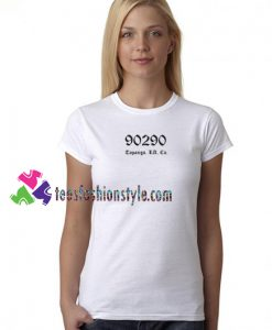 90290 Topanga Los Angeles California T Shirt gift tees unisex adult cool tee shirts