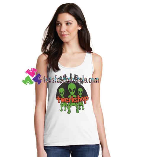 Alien Twerkshop Tanktop gift tanktop shirt unisex custom clothing Size S-3XL