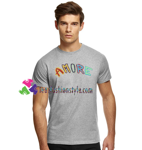 Amore T Shirt gift tees unisex adult cool tee shirts