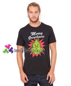 Dr Seuss Merry Grinchmas Grinch Stole Christmas T Shirt gift tees unisex adult cool tee shirts