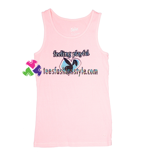 Feeling Playful Tank Top gift tanktop shirt unisex custom clothing Size S-3XL