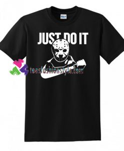 Jason Just Do It Shirt, Halloween, Michael Myers, Hocus Pocus, Horror Movie Shirt gift tees unisex adult cool tee shirts