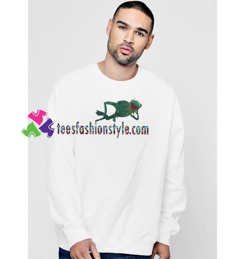 030b25057 Kermit Frog Sweatshirt Gift sweater adult unisex cool tee shirts