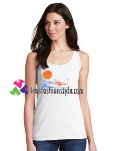 Sun set Tanktop gift tanktop shirt unisex custom clothing Size S-3XL
