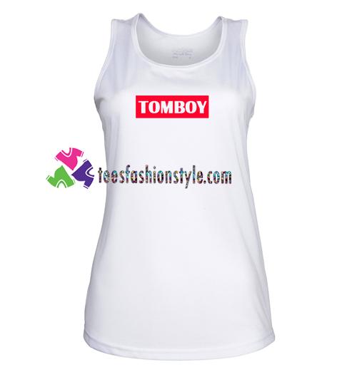 Tomboy TankTop gift tanktop shirt unisex custom clothing Size S-3XL