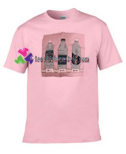 Water bottles T Shirt gift tees unisex adult cool tee shirts